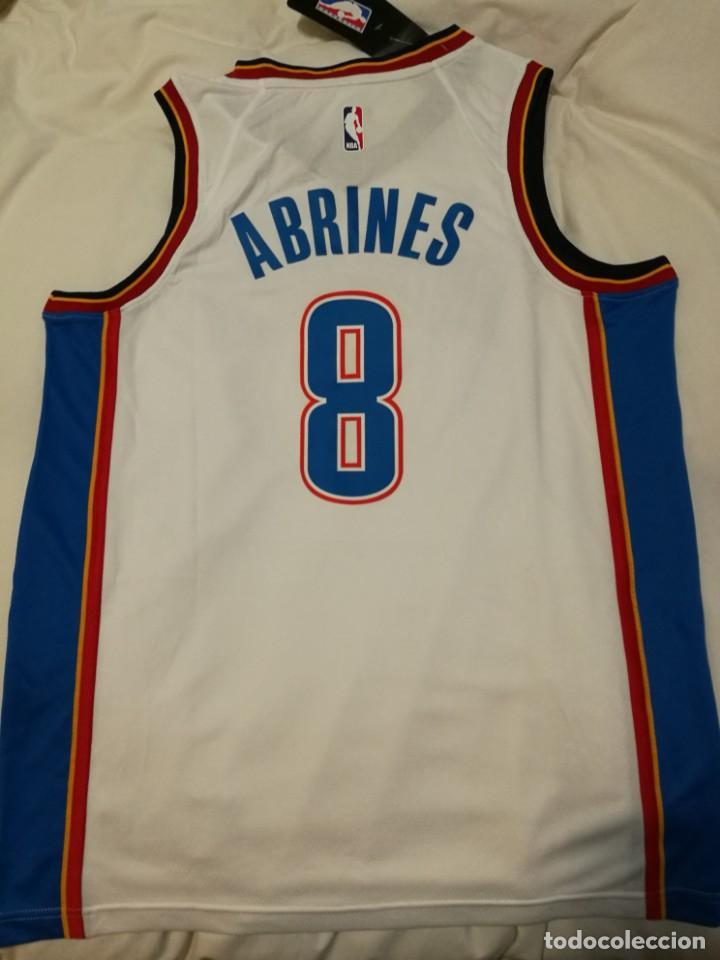 camiseta de basket oklahoma city thunder abrine - Comprar en todocoleccion - 139960426