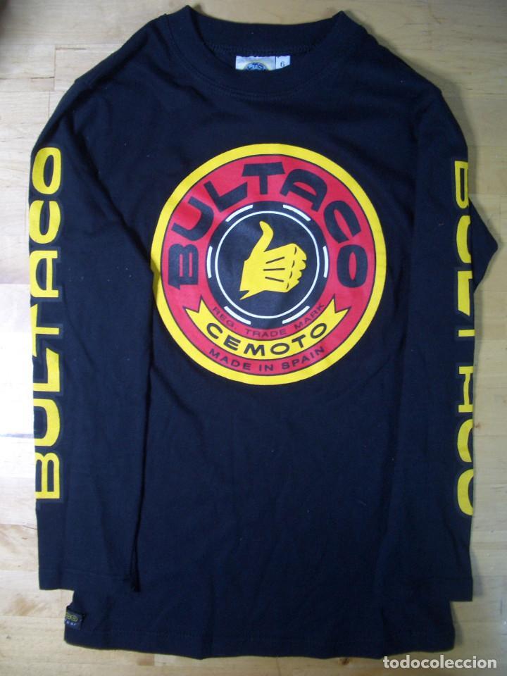 CAMISETA BULTACO CEMOTO MOTO MOTOCICLISMO (Coleccionismo Deportivo - Ropa y Complementos - Camisetas otros Deportes)