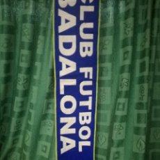 Coleccionismo deportivo: CF BADALONA BUFANDA FUTBOL FOOTBALL SCARF . Lote 146672042