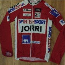 Coleccionismo deportivo: MAILLOT CICLISTA INTERSPORT JORRI. Lote 140794050