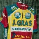 Coleccionismo deportivo: J GRAS CC XL MAILLOT CICLISMO CICLISTA . Lote 160073897
