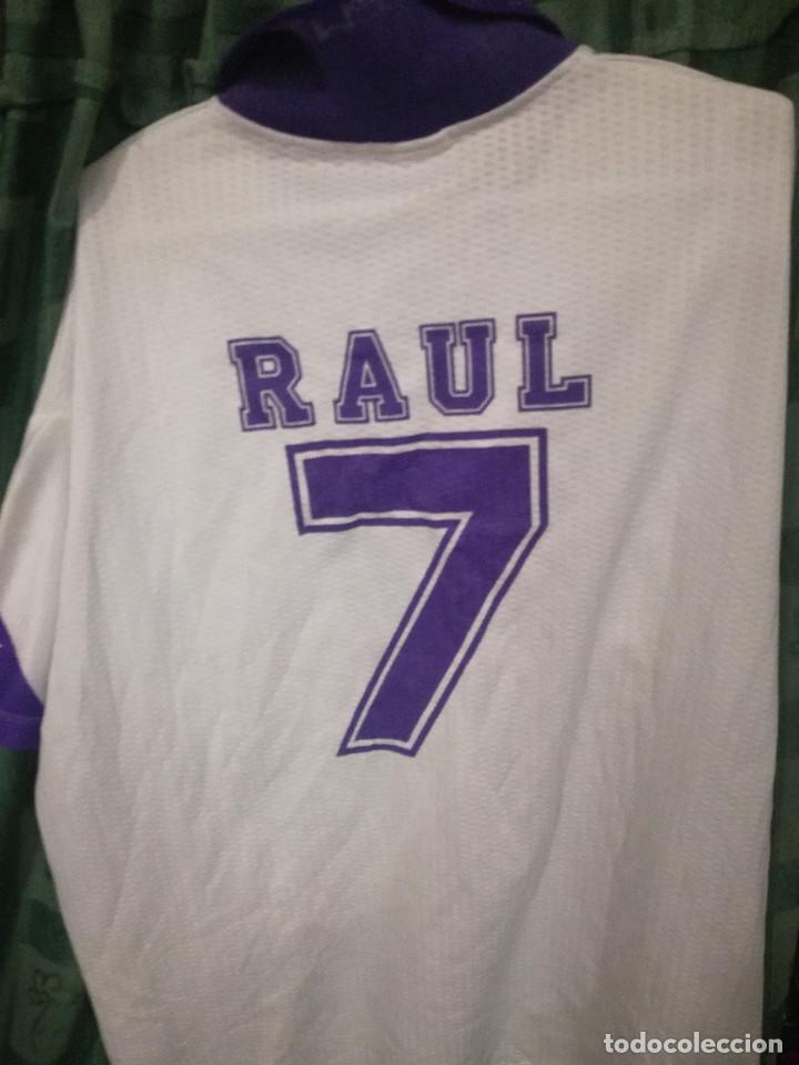 28c1b0f1c7e RAUL REAL MADRID TAQUY SPORTS XL CAMISETA FUTBOL FOOTBALL SHIRT (Coleccionismo  Deportivo - Ropa y