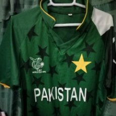 Collectionnisme sportif: PAKISTAN CRICKET CAMISETA L. Lote 141789458
