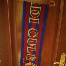 Coleccionismo deportivo: FC BARCELONA JORDI CULE BUFANDA FUTBOL SCARF FOOTBALL . Lote 142542538