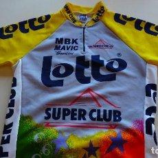 Coleccionismo deportivo: MAILLOT SANTINI LOTTO SUPER CLUB. Lote 142964666
