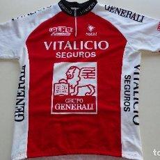 Coleccionismo deportivo: MAILLOT NALINI VITALICIO SEGUROS. Lote 143024178