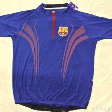 Coleccionismo deportivo: CAMISETA MAILLOT CICLISMO FC BARCELONA , XXL , NUEVO. Lote 145106606
