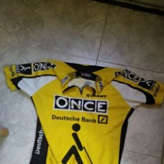 Coleccionismo deportivo: MAILLOT ONCE DEUTSCHE BANK GIANT CASTELLI. Lote 146748980