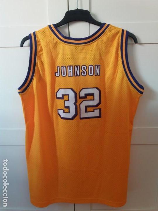 44a06f2b1 Coleccionismo deportivo  Magic Johnson jersey NBA Hardwood Classics LA  Lakers - Foto 3 - 147226786