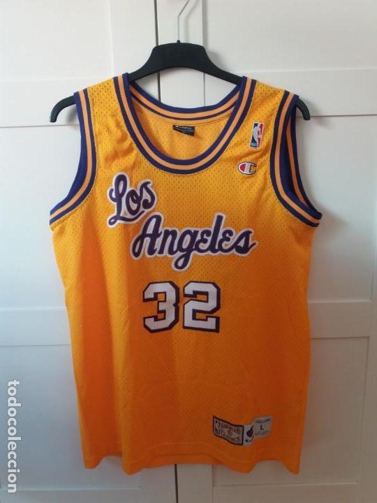 826300928 3 fotos MAGIC JOHNSON JERSEY NBA HARDWOOD CLASSICS LA LAKERS (Coleccionismo  Deportivo - Ropa y Complementos ...