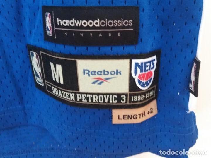 1657bc1a975a Sports collectibles  Drazen Petrovic jersey NBA Reebok Hardwood Classics  New Jersey Nets - Foto 2