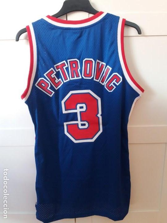 39deb204f08 Sports collectibles  Drazen Petrovic jersey NBA Reebok Hardwood Classics  New Jersey Nets - Foto 3