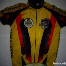 Coleccionismo deportivo: MAILLOT CICLISTA CICLISMO ORIGINAL WARSTEINER BYCICLE TEAM SWISS MAX HURZELER OLE MALLORCA. Lote 147724126