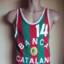 Coleccionismo deportivo: (F-190150)CAMISETA BALONCESTO BANCA CATALANA MONT HALL - MATCH WORN - AÑOS 60 - 70. Lote 147841214