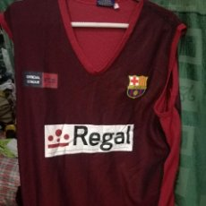 Collezionismo sportivo: REGAL FC BARCELONA L CAMISETA BASKET BASQUET SHIRT . Lote 147963694
