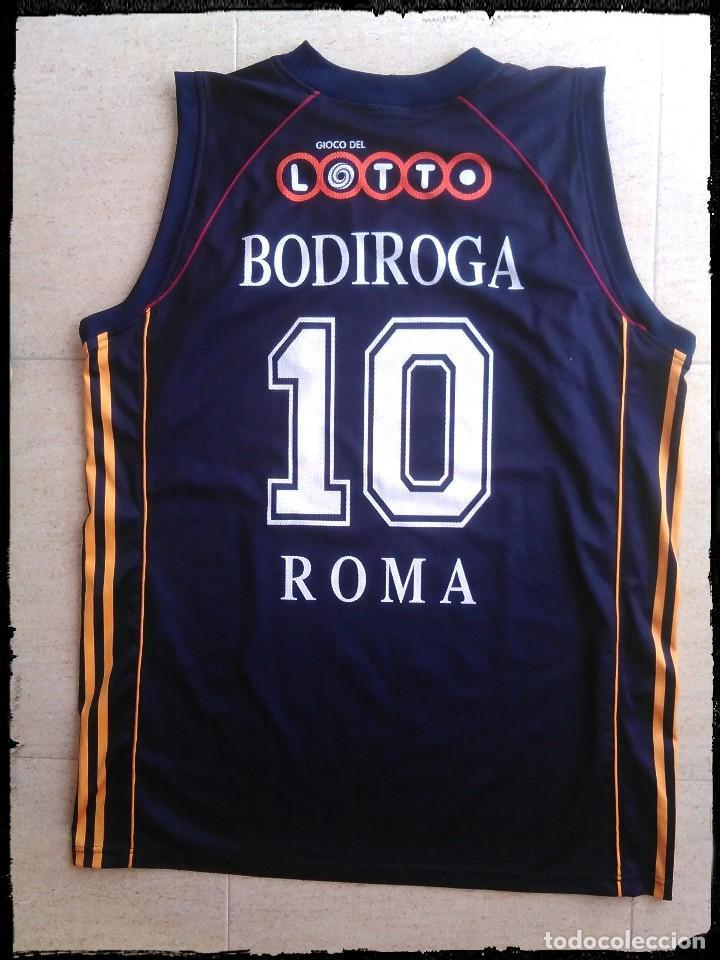 7233d38c8ca Coleccionismo deportivo  camiseta baloncesto Roma basket Bodiroga Real  Madrid Barcelona - Foto 2 - 150205362