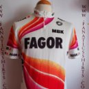 Coleccionismo deportivo: MAILLOT CICLISMO TEAM FAGOR MBK 1988 VINTAGE CICLYNG. Lote 150229434
