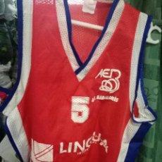 Coleccionismo deportivo: AE BADALONES M BASQUET CAMISETA . Lote 151311174