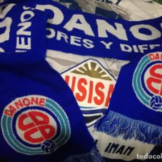 Collectionnisme sportif: CD DANONE BUFANDA FUTBOL FOOTBALL FLAG SCARF . Lote 151545378