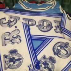 Collezionismo sportivo: DEPORTIVO DE LA CORUÑA BUFANDA FUTBOL FOOTBALL FLAG SCARF . Lote 151545846