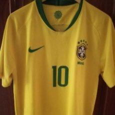 Coleccionismo deportivo: NEYMAR BRASIL L CAMISETA FUTBOL FOOTBALL SHIRT . Lote 151596350