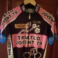 Coleccionismo deportivo: TRIATHLON JOVENT MAILLOT CICLISMO CICLISTA L . Lote 151597230