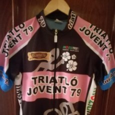 Coleccionismo deportivo: TRIATHLON JOVENT MAILLOT CICLISMO CICLISTA L . Lote 151597286