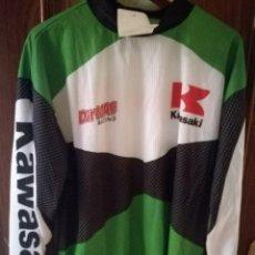 Coleccionismo deportivo: KAWASAKI XL TRIAL MOTO CAMISETA SHIRT MOTOCROSS . Lote 151597338
