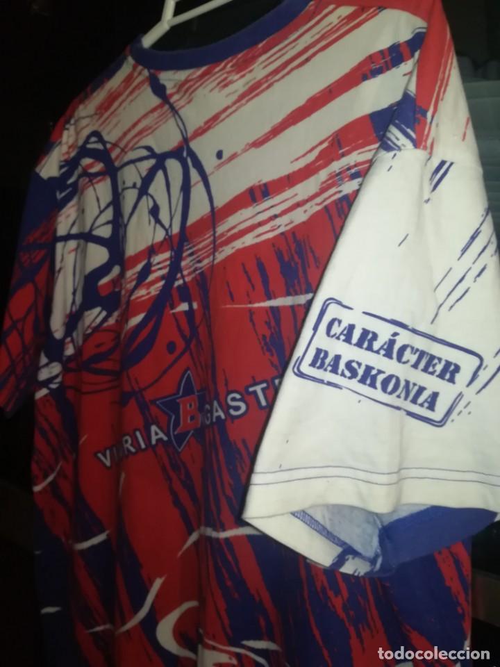 Coleccionismo deportivo: CAMISETA TAU BASKONIA, VITORIA - Foto 6 - 153869406