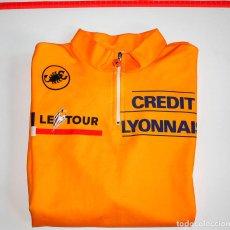 Coleccionismo deportivo: MAILLOT LE TOUR-CREDIT LYONNAIS. AÑO 1992. MADE IN ITALY. SIN USAR. TALLA VII. Lote 155201726