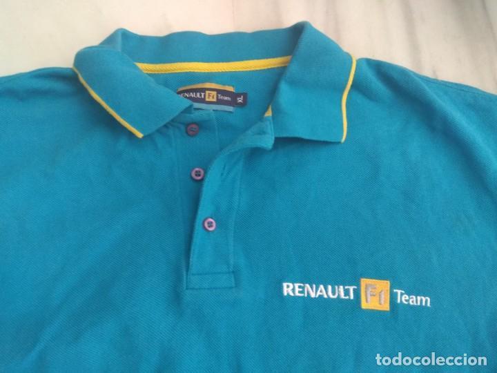 Coleccionismo deportivo: POLITO RENAULT F 1 TEAM TALLA XL - Foto 2 - 156613634