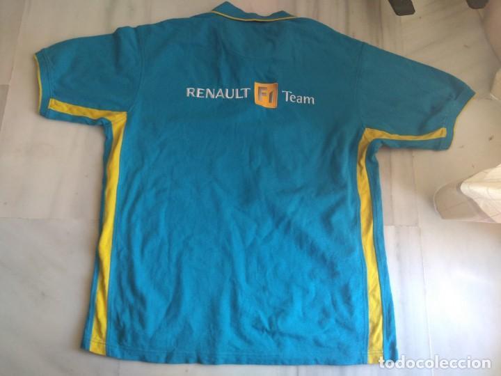 Coleccionismo deportivo: POLITO RENAULT F 1 TEAM TALLA XL - Foto 3 - 156613634