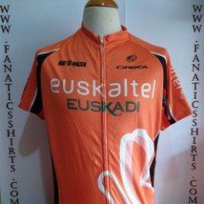 Coleccionismo deportivo: MAILLOT CICLISMO TEAM EUSKALTEL EUSKADI ORBEA BIO RACER CICLYNG MAGLIA. Lote 156613746