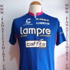 Coleccionismo deportivo: MAILLOT CICLISMO TEAM LAMPRE CAFFITA CANNONDALE KAPPA. Lote 156614190