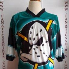 Coleccionismo deportivo: CAMISETA MIGHTY DUCKS NHL HOCKEY NUTMEG . Lote 156615394