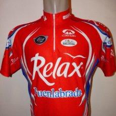 Coleccionismo deportivo: MAILLOT MONVER RELAX FUENLABRADA BH. Lote 156638858