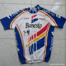 Coleccionismo deportivo: MAILLOT OFICIAL EQUIPO BANESTO - MIGUEL INDURAIN - 1993 T. Lote 156691214