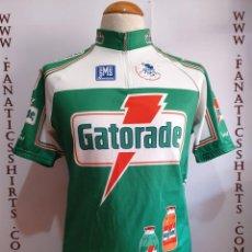 Coleccionismo deportivo: MAILLOT CICLISMO TEAM GATORADE SANTINI UCI PROTOUR. Lote 156714930