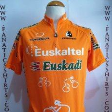 Coleccionismo deportivo: MAILLOT CICLISMO TEAM EUSKALTEL EUSKADI ETXEONDO ORBEA . Lote 156715654