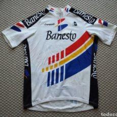Coleccionismo deportivo: CICLISMO. MAILLOT EQUIPO BANESTO TEMPORADA 1990. Lote 158651173
