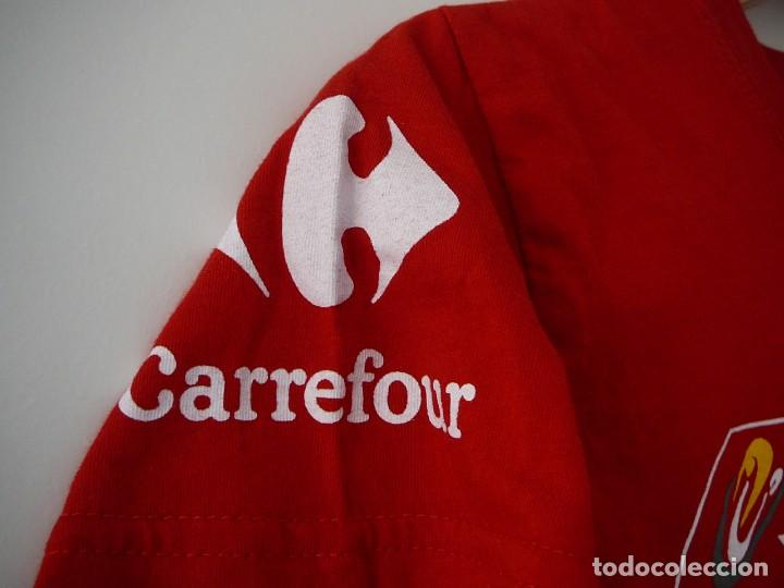 Mujer EspañaCarrefourManga A Camiseta Voluntario CortaTalla L Vuelta UzVpMqS