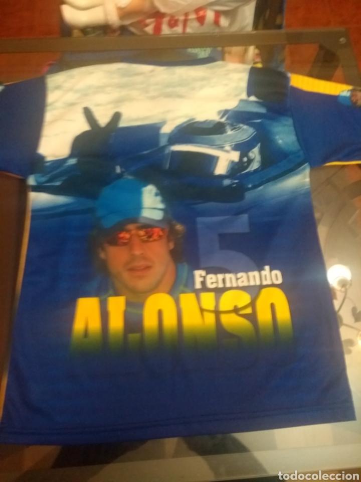 Coleccionismo deportivo: Camiseta Fernando Alonso - Foto 2 - 159575550