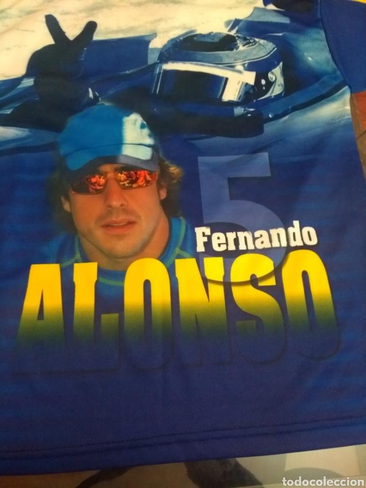 Coleccionismo deportivo: Camiseta Fernando Alonso - Foto 3 - 159575550