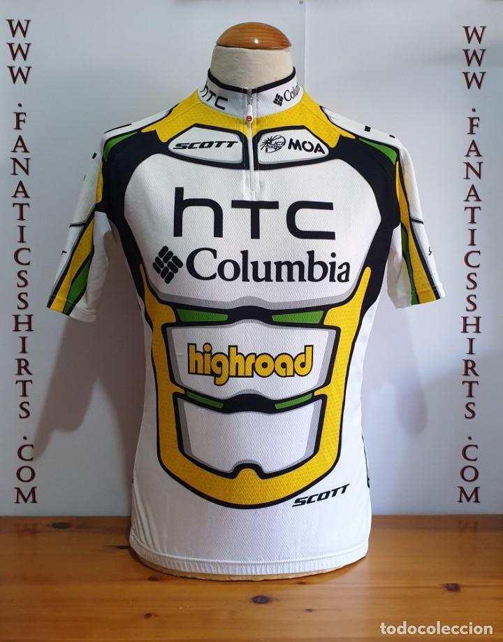CONJUNTO CICLISMO MAILLOT + CULOTTE TEAM HTC COLUMBIA MOA SCOTT HIGHROAD (Coleccionismo Deportivo - Ropa y Complementos - Camisetas otros Deportes)