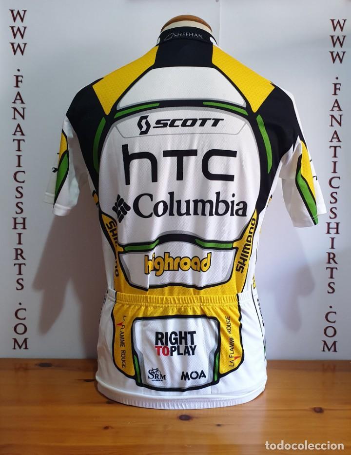 Coleccionismo deportivo: Conjunto Ciclismo Maillot + Culotte TEAM HTC Columbia Moa Scott Highroad - Foto 2 - 159744662