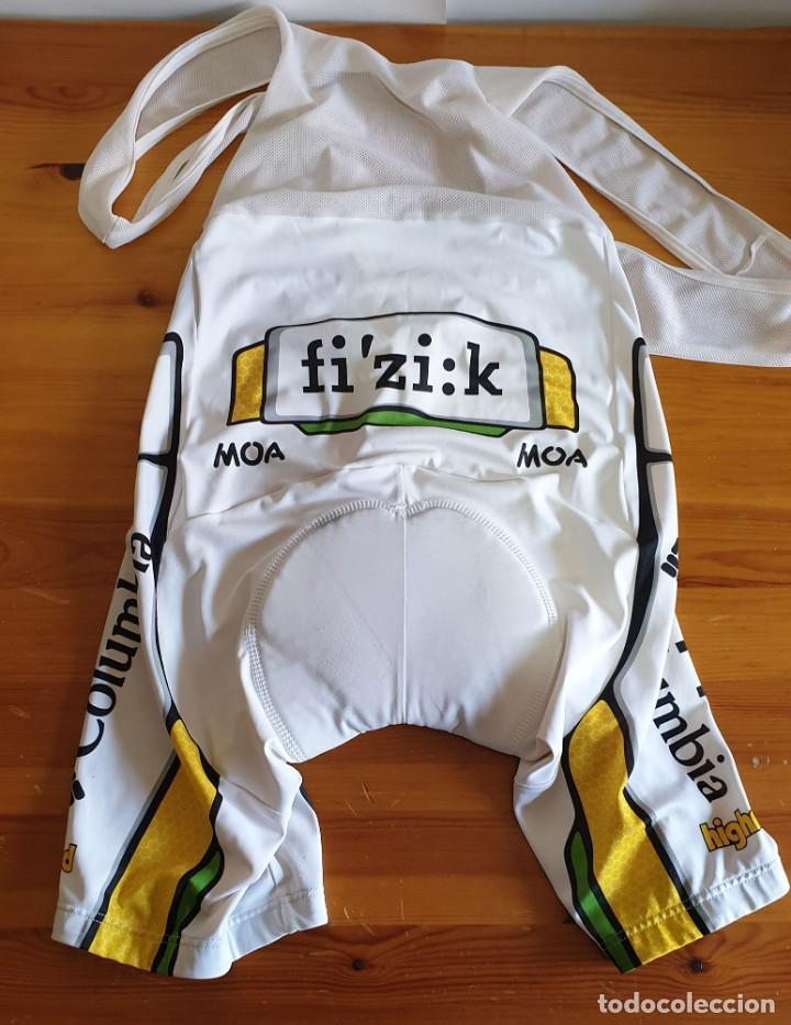 Coleccionismo deportivo: Conjunto Ciclismo Maillot + Culotte TEAM HTC Columbia Moa Scott Highroad - Foto 4 - 159744662