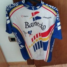 Coleccionismo deportivo: ANTIGUO MAIOT DEL BANESTO XACOBEO CICLISMO. Lote 159780842