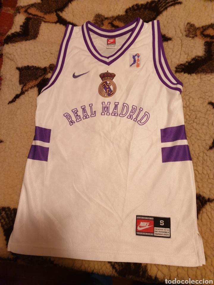 Real Shirt Madrid Baloncesto Basket Retro Nike Camiseta gfyvYb76