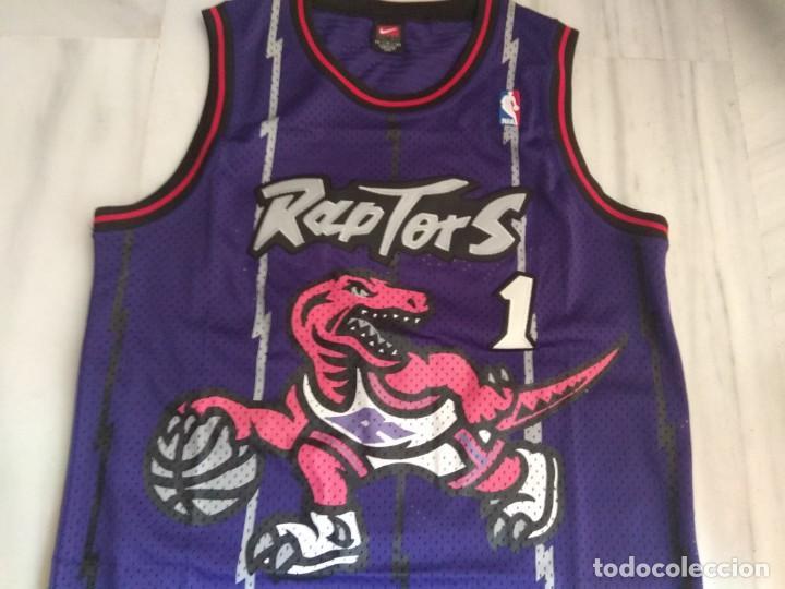 CAMISETA NBA RAPTORS MC GRADY (Coleccionismo Deportivo - Ropa y Complementos - Camisetas otros Deportes)