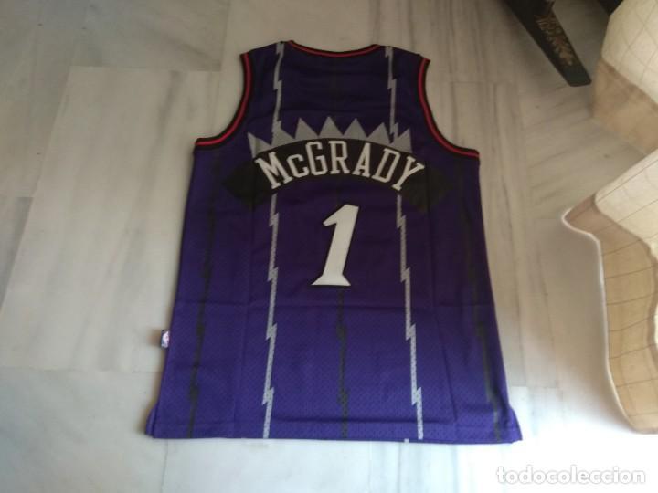 Coleccionismo deportivo: CAMISETA NBA RAPTORS MC GRADY - Foto 2 - 161120062